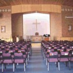 Inside the new church